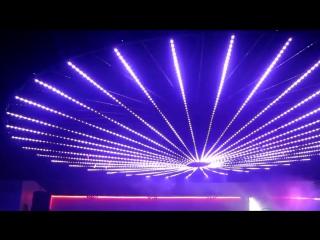 Dmx led strip by sirs-e installed at shine club mcallen tx