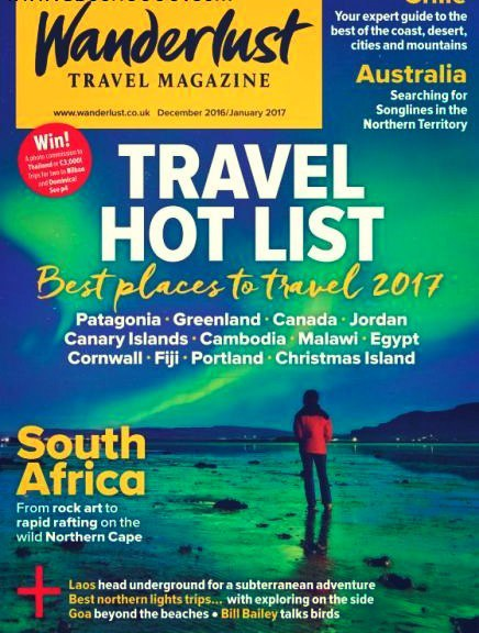Wanderlust UK - December 2016 - January 2017