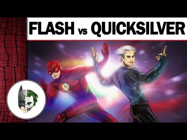Flash vs Quicksilver (Флеш против Ртути) - Comic Battle