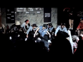 Amazing Old School Hip Hop Dance Choreography || Purplow Crew
