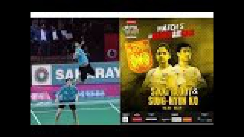 Badminton 2017 PBL Ko Sung Hyun Sikki Reddy vs Bodin Issara Savitree Amitrapai