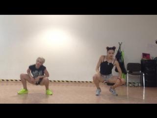 Rita sunshine & ghost ulia aka yulia, rita sunshine choreo, 2 workshop