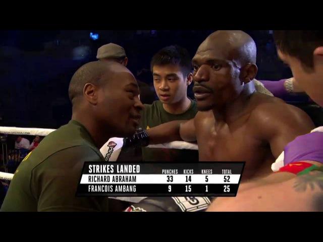 GLORY 30 Los Angeles Richard Abraham vs Francois Ambang (Welterweight Finals)