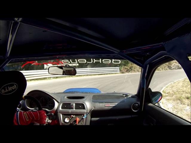 Subaru Impreza WRX STI - GHD Ilirska Bistrica 2016 - Gregor Vouk - onboard