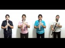 Johann Pachelbel - Canon / Kanon - for 4 recorders AAAB - by Orlan Charles