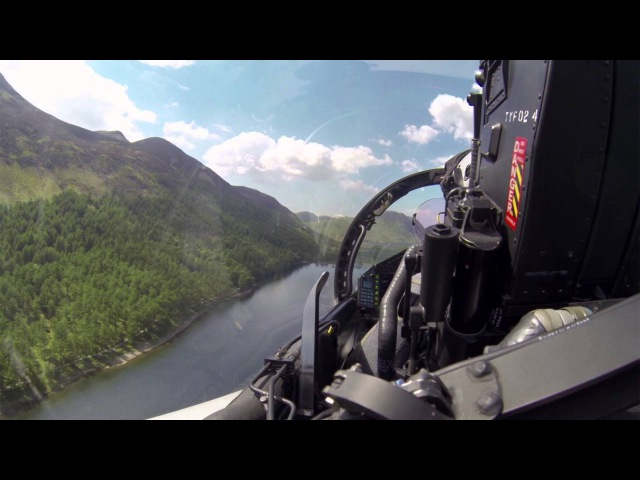 Flying the Typhoon Through the Mach Loop at Low Level