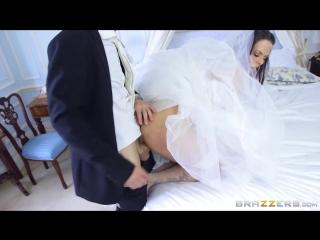 Секс невесты в свадебном платье