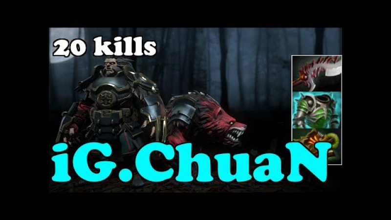 Dota 2 iG.ChuaN Plays Lycan - Normal Gameplay Highlights