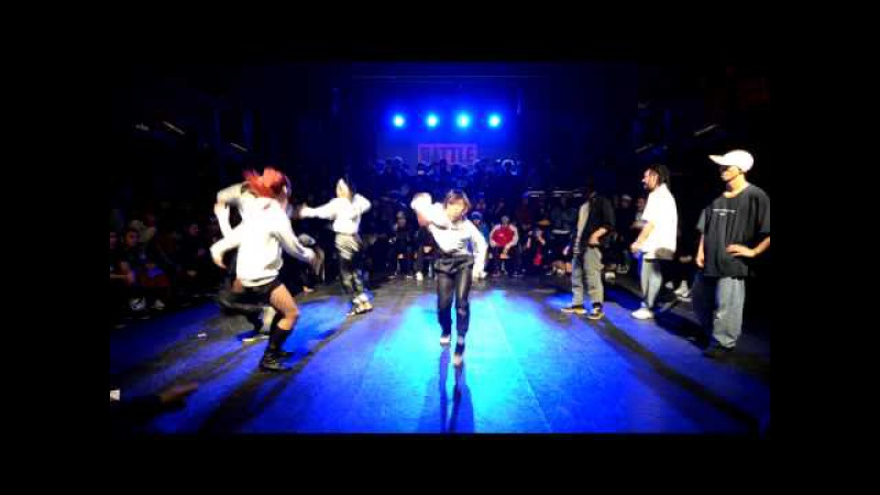 Crossover vs Soul sisterz Final @Battle is over 2015