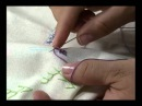 02 06 2011 Pontos de bordado e Rosa enrolada