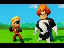 Дэш Парр Шастик Суперсемейка против Синдрома и маишки Дисней The Incredibles Cars