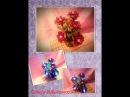 Цветок из бисера светильник Урок №2