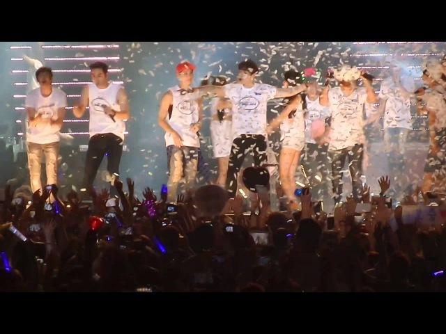 [Fancam] 140830 2PM 2AM Miss A GOT7 - Nobody Hands Up @ JYP NATION ONE MIC IN HONG KONG