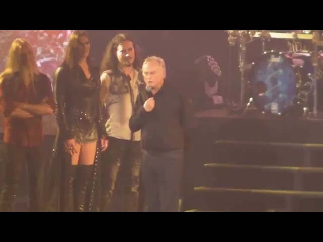 Nightwish End of Concert with Richard Dawkins