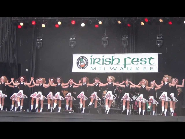 Milwaukee Irish Fest - 2012 - Trinity Irish Dancers