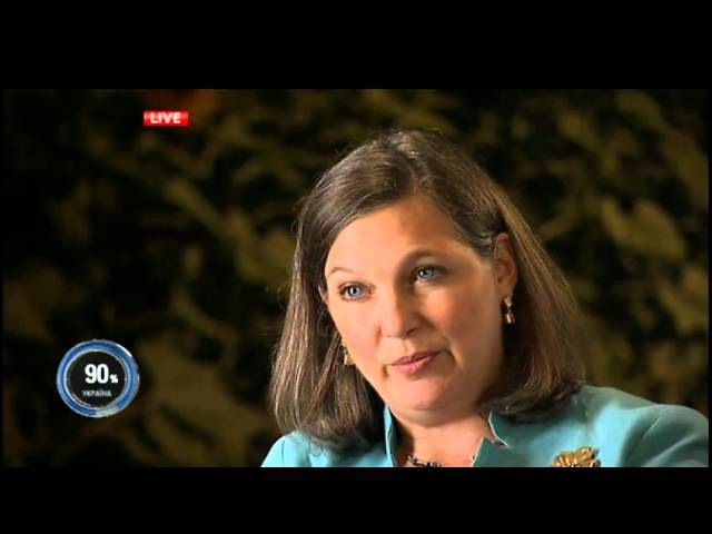 Ексклюзивне інтерв'ю Савика Шустера з Вікторією Нуланд