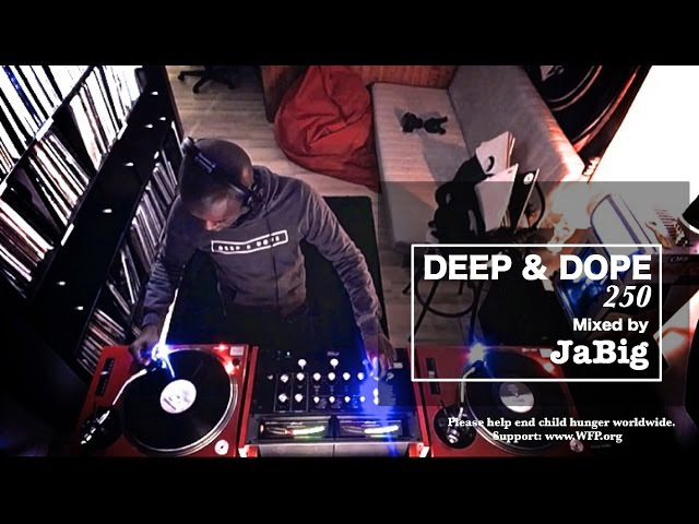 Deep Soulful Afro House Music Vinyl Mix by JaBig - DEEP DOPE 250