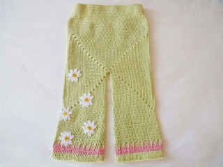 Штанишки бэби-сюрприз Knickers og Baby Surprise Crochet