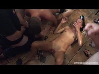 Chezh gang bang 19  | hd blowjob sex suck deep throat анал минет fetish оргия orgy brazzers porno xxx anal gang bang