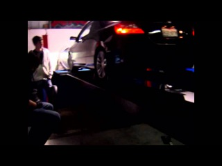 Honda Civic Si dyno exhaust cutout