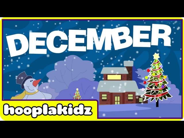 Months Of The Year Song HooplaKidz Nursery Rhymes Kids Songs