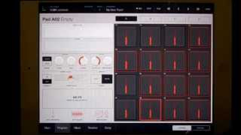 IMPC Pro Sampling from iTunes on your iPad
