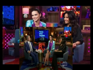 Adriana lima and padma lakshmi on watch what happens live