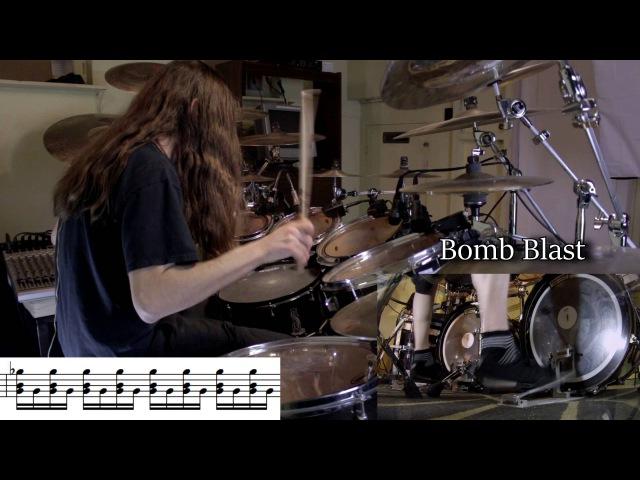 Different Types of Blast Beats with notation смотреть онлайн без регистрации