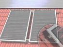 Как установить солнечный коллектор?