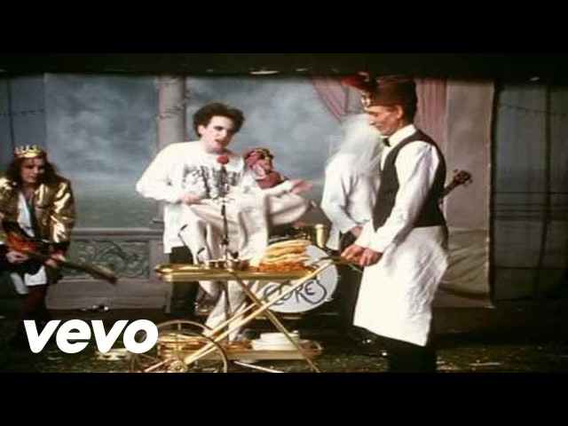 The Cure Friday I'm In Love Official Video