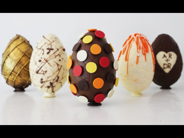 Amazing Chocolate Eggs How To Cook That Ann Reardon Easter 2016