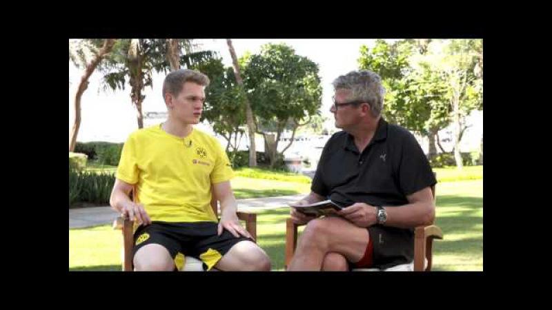 Matthias Ginter im Interview aus dem BVB Trainingslager in Dubai