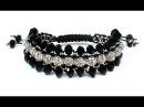DIY Triple shamballa bracelet Как сделать тройной браслет шамбала