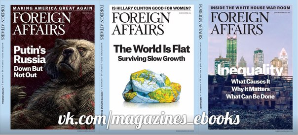 Foreign Affairs – May - June 2016