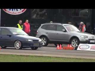 Flugplatzblasen 2015 - Opel Vectra 4x4 vs. BMW X3