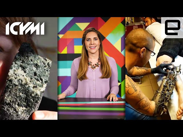 ICYMI Robotank and carbon emissions made into rock