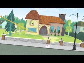 Кид vs Кэт   Лазерный коготок   15 серия ¦ Короткая анимация.