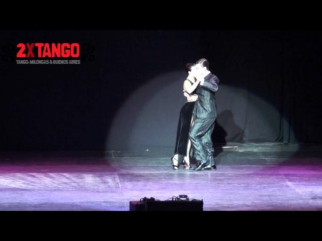 Campeones Mundiales de Tango Escenario Guido Palacios Y Florencia Zarate Castilla