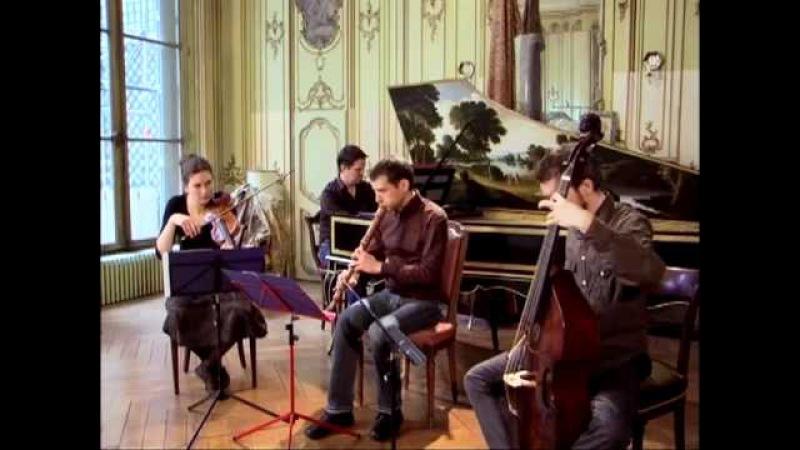 Telemann Quatuor Parisien Modéré Capriccio Stravagante