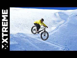 Snow Mountainbiking In The Sierra Nevadas | Fatbike