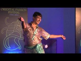 KHALED MAHMOUD (EGYPT) 6TH ORIENTAL PASSION FESTIVAL ATHENS GREECE