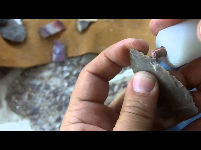 102 3 9 Beginner Flintknapping Stone Arrowhead for Hunting
