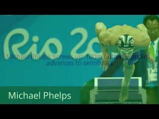 Michael Phelps 'screws up' 100m ,advances to semifinals, Rio Olympics 2016