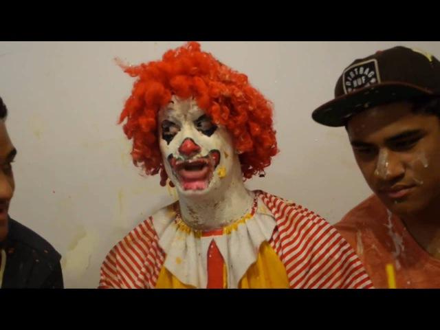 Ronald McDonald Tastes Burger King Рональд МакДональд Пробует Еду Бургер Кинга Русская озвучка