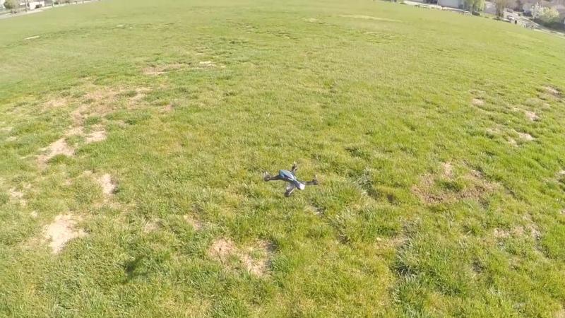 Zhicheng Z1 Quadcopter Review and Flights квадрокоптер