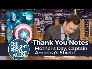 Thank You Notes: Mother's Day, Captain America's Shield