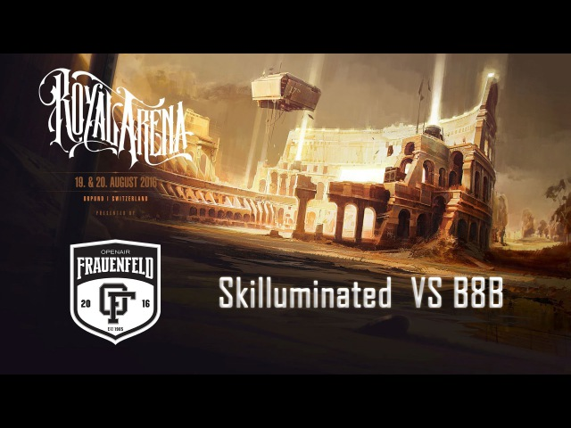 Skilluminated vs B8B | Royal B-Boy Battle Qualifier | Final