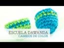 Cómo hacer líneas de otro color en los amigurumi DaWanda