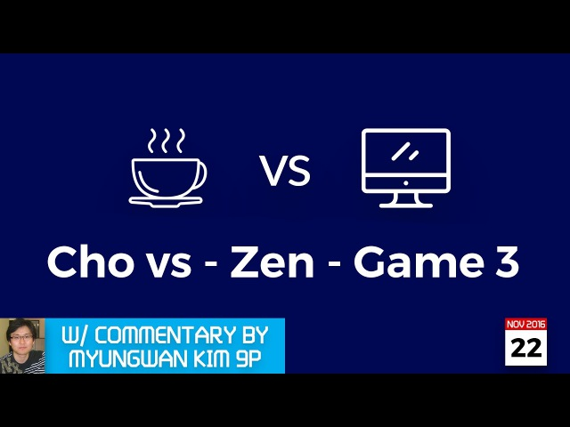 LIVE Cho Chikun (b) 9p vs DEEP ZEN GO (w), game 3/3, commentary by Myungwan Kim 9p!