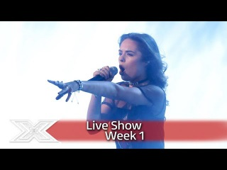 Samantha Lavery sings James Arthur's Impossible | Live Shows Week 1 | The X Factor UK 2016